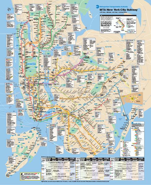 New York City Mta Subway Map Mediumthumb Pdf Ohny Open House New York