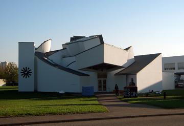Vitra Desgin Museum main building